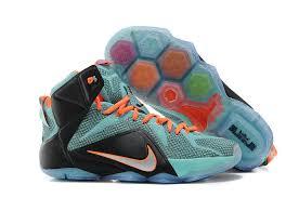 lebron james shoes 12 for kids. cheap lebron 12 kids blue orange black,nike air max 95,nike huarache, james shoes for