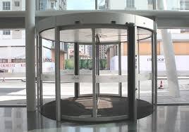 this is an image of the dorma ktc 2 revolving door