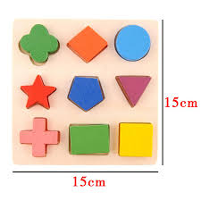 <b>2019 Hot</b> Sale Geometry Shape Wooden Pattern <b>Block</b> Toy ...