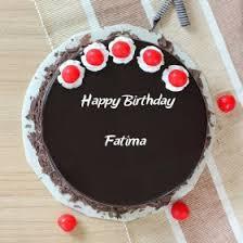 Fatima Happy Birthday Cakes Photos