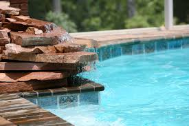 Fabulous Swimming Pools With Waterfalls Pictures Home