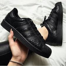 adidas shoes for girls superstar black. black snakeskin adidas superstar sneakers shoes for girls