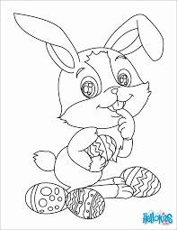 Easter Bunny Head Coloring Pages Free Coloring Pages
