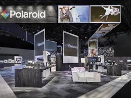 Trade Show Booth Design Ideas polaroid custom trade show exhibit