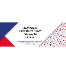 national freedom day banner vector image usa national freedom day card with american flag vector image banner for veterans day facebook size