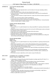 Resume Engine Engine Programmer Resume Samples Velvet Jobs 19