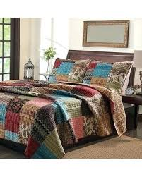 Kohls New Bohemian Cotton Patchwork Quilt Set Sham Separates Multi ... & Kohls New Bohemian Cotton Patchwork Quilt Set Sham Separates Multi Size  King From Overstock King Bed Adamdwight.com
