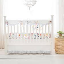 nursery crib set wildflower collection