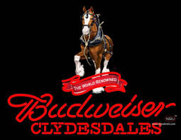 Custom Budweiser Clydesdales Real Neon Glass Tube Neon Sign