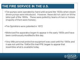 historical perspectives of the fire service ppt video online  the fire service in the u s