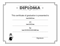 diploma word template degree certificate template word graduate degrees onlineoffline