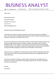 Sample Cover Letter Business 80 Cover Letter Examples Samples Free Download Resume Genius