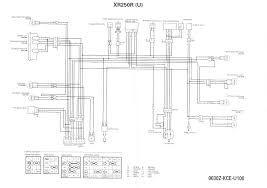 honda xrr engine diagram honda wiring diagrams