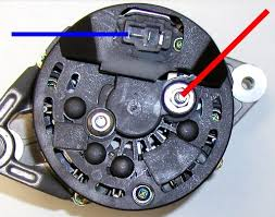 race alternator wiring at lindsey racing your porsche this is how you wire the light weight 50 amp bosch racing alternator we supply