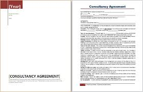 Official Documents Template Ms Word Consultancy Agreement Template Word Document Templates