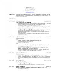 Good Objective For Resume Examples Of Resumes Objectives Sample In