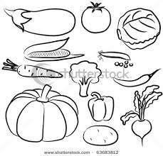 fruit and vegetables black and white. Clipart Vegetables Black And White Google Search Fruit