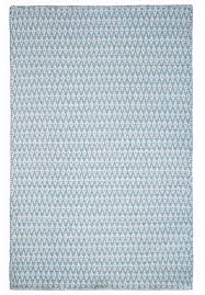 ashley eco cotton rug light blue white