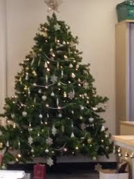 Office Christmas Decorations Christmas Tree And Secret S