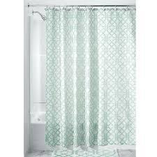 interdesign shower curtain polyester inter design trellis fabric shower curtain plaid print style curtains interdesign fabric