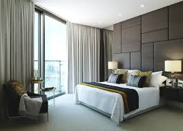Bedroom, Wonderful Fabric Upholstered Walls For Bedroom: Tips and Ideas to  Install Stylish Padded