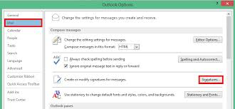 Set Up Email Signature Depending On Email Address In Outlook