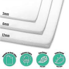 Light Diffusing Foam White Translucent Plastazote Ld45 Foam 50x100cm Perfect For Diffusing Light
