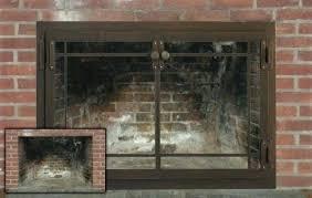 modern fireplace doors and screens pleasant hearth masonry promo code custom fireplace doors