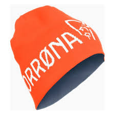 <b>Шапка Norrona 29</b> Thin Logo Beanie оранжевая One Size купить ...