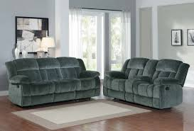 Reclining Living Room Furniture Sets Homelegance Laurelton Reclining Sofa Set Charcoal Textured