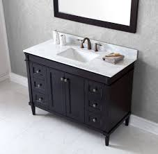bathroom vanities 48 inch. Virtu USA Tiffany 48 Bathroom Vanity Cabinet In Espresso Bathroom Vanities Inch