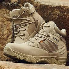 Creative Solid Yes ZIP 2019 Winter Autumn Men Military Boots ...