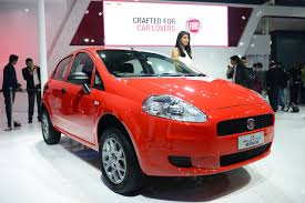 new car launches by fiatFiat Punto Pure  Auto Expo 2016 Live