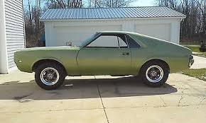 amc io 1968 amc amx 1968 amc amx project