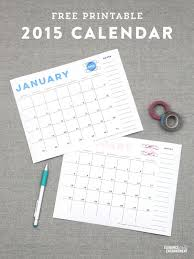 Beautiful Free And Printable 2015 Desk Calendars Planners