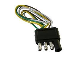amazon com 4 pin pole flat trailer wiring harness kit automotive 4 pin pole flat trailer wiring harness kit