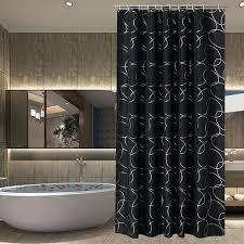 luxury bath curtains line black luxury shower curtain waterproof shower curtain bath screens curtains in the