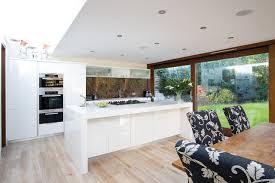 white kitchen wood floor. Perfect Kitchen White Kitchen Contemporarykitchen For Wood Floor