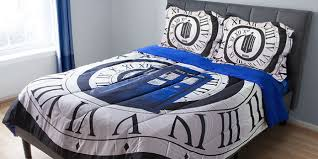 Travel through time with these Doctor Who bedsheets