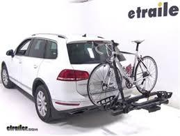 thule hitch bike racks review 2016 volkswagen touareg etrailer com