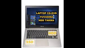 Laptop CD-DVD Yuvasına Harddisk Nasıl Takılır - Laptop'a Çift Harddisk  Takarak Hafıza Artırma - YouTube