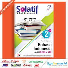 Semoga bermanfaat untuk adik saya. Buku Solatif Bahasa Indonesia Smp Mts Kelas 8 Masmedia Shopee Indonesia