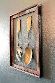 fork wall decor fork and spoon wall art spoon and fork wall decor giant