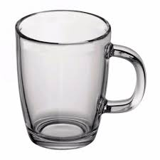 bodum bistro glass mugs x 4 coffee tea mug 0 35l 12 fl oz