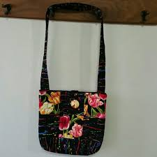 HANDMADE QUILTED BAG - Handmade Quilted Purse from Evelyn's closet ... & Handmade Quilted Purse Adamdwight.com