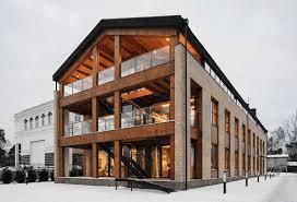 wooden office buildings. Wooden Loft-Like Offices Office Buildings