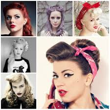 Pin Ups Hair Style pin up hairstyles tutorial pin up hairstyles with a bandana 6410 by wearticles.com