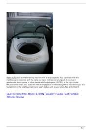 haier portable washer. haier hlp21n is a small washing machine portable washer .
