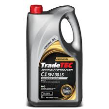 tradetec c1 5w 30 ls fully synthetic low saps engine oil