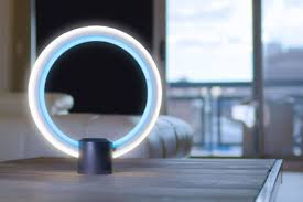 Sol Light Ge Ge Made A Circular Lamp With Alexa In It The Verge